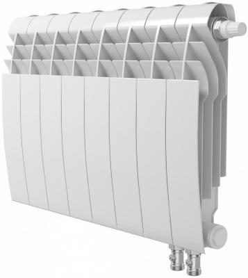 Радиатор Royal Thermo BiLiner 350 /Bianco Traffico VR - 8 секц. биметаллический радиатор rifar рифар b 500 нп 10 сек лев кол во секций 10 мощность вт 2040 подключение левое