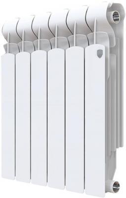 Радиатор Royal Thermo Indigo Super+ 500 - 6 секц. биметаллический радиатор rifar рифар b 500 нп 10 сек лев кол во секций 10 мощность вт 2040 подключение левое