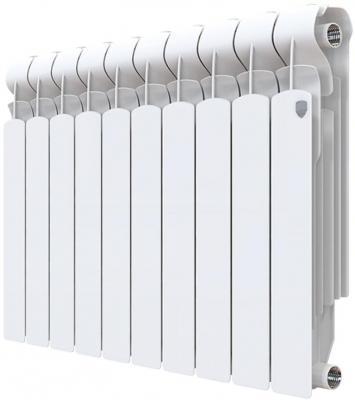 Радиатор Royal Thermo Indigo Super+ 500 - 8 секц. биметаллический радиатор rifar рифар b 500 нп 10 сек лев кол во секций 10 мощность вт 2040 подключение левое