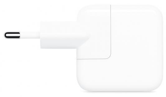 Сетевое зарядное устройство Apple USB Power Adapter 2.4А белый (MGN03ZM/A)