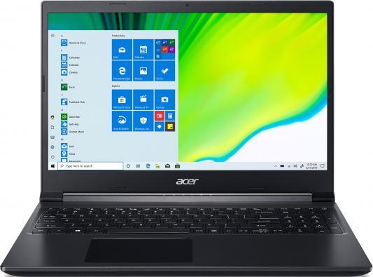 Acer Aspire A715-41G-R2LA [NH.Q8LER.001] black 15.6 {FHD Ryzen 5 3550H/8Gb/512Gb SSD/GTX1650 4Gb/Linux} acer aspire c22 320 [dq bcqer 005] 21 5 fhd a6 9220e 4gb 1tb linux k m