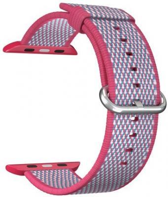 Ремешок Lyambda Polis для Apple Watch красный DSN-02-02A-44-RD ремешок для часов lyambda для apple watch 38 40 mm polis dsn 02 02a 40 rd red