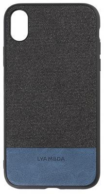 Накладка Lyambda Calypso для iPhone XS чёрный LA03-CL-XS-BK