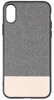 Накладка Lyambda Calypso для iPhone XS Max серый LA03-CL-XSM-GR чехол клип кейс lyambda calypso для iphone xs max la03 cl xsm br brown