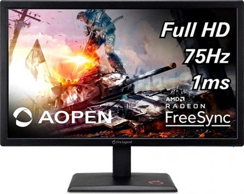 Монитор Acer 21.5 Aopen 22MH1QSbipx TN+film 1920x1080 144Hz 250cd/m2 16:9 монитор benq 24 gl2480e tn 1920x1080 75hz 250cd m2 16 9