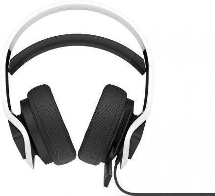 Фото - Наушники с микрофоном HP OMEN Mindframe2 WHT Headset белый/черный 1.8м накладные USB оголовье (6MF36AA) наушники с микрофоном hama urage soundz 310 черный серый 2 5м накладные usb оголовье 00186023