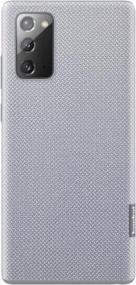 Фото - Чехол (клип-кейс) Samsung для Samsung Galaxy Note 20 Kvadrat Cover серый (EF-XN980FJEGRU) чехол клип кейс samsung galaxy note 20 ultra silicone cover белый ef pn985twegru