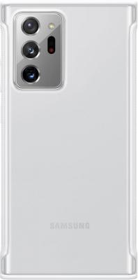Фото - Чехол (клип-кейс) Samsung для Samsung Galaxy Note 20 Ultra Clear Protective Cover белый (EF-GN985CWEGRU) чехол клип кейс samsung galaxy note 20 ultra silicone cover белый ef pn985twegru