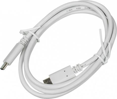 Фото - Кабель Type-C 1м Red Line Power Delivery круглый белый УТ000015785 кабель borasco usb type c 2а 1м белый