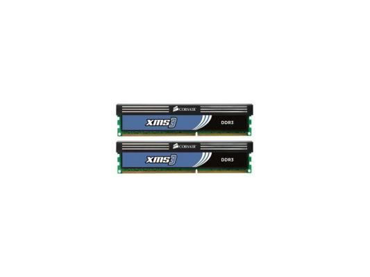 Оперативная память 4Gb (2x4Gb) PC3-12800 1600MHz DDR3 DIMM CL9 Corsair CMX4GX3M2A1600C9