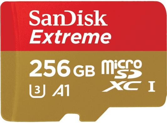 Фото - Флеш карта microSD 256GB SanDisk microSDXC Class 10 UHS-I A1 C10 V30 U3 for Nintendo Switch 100MB/s флеш карта sd 128gb sandisk sdxc class 10 uhs i u1 ultra 100mb s