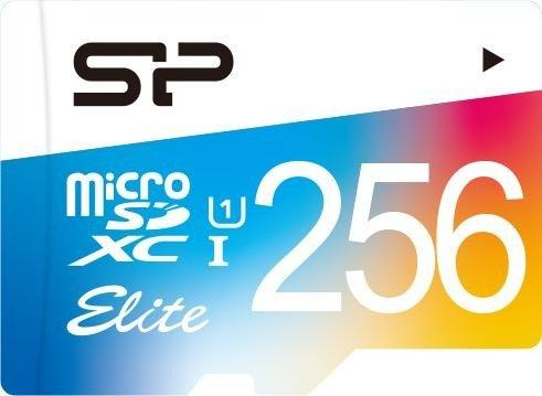 Фото - Флеш карта microSD 256GB Silicon Power Elite microSDHC Class 10 UHS-I (SD адаптер) Colorful флеш карта microsd 512gb silicon power superior pro a1 microsdxc class 10 uhs i u3 colorful 100 80 mb s sd адаптер