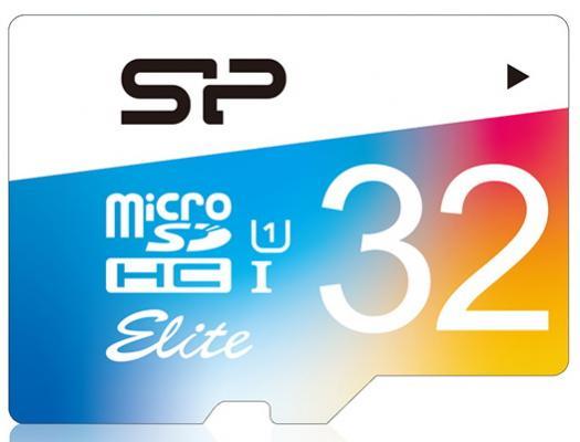Фото - Флеш карта microSD 32GB Silicon Power Elite microSDHC Class 10 UHS-I Colorful флеш карта microsd 8gb mirex microsdhc class 4