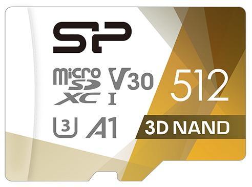Фото - Флеш карта microSD 512GB Silicon Power Superior Pro A1 microSDXC Class 10 UHS-I U3 Colorful 100/80 Mb/s (SD адаптер) флеш карта microsd 512gb silicon power superior pro a1 microsdxc class 10 uhs i u3 colorful 100 80 mb s sd адаптер