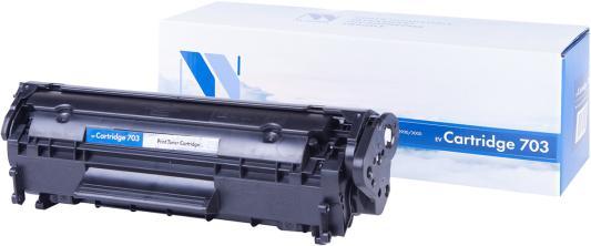 Картридж NV-Print NV-703 для Canon i-SENSYS LBP2900 i-SENSYS LBP2900B i-SENSYS LBP3000 2000стр Черный
