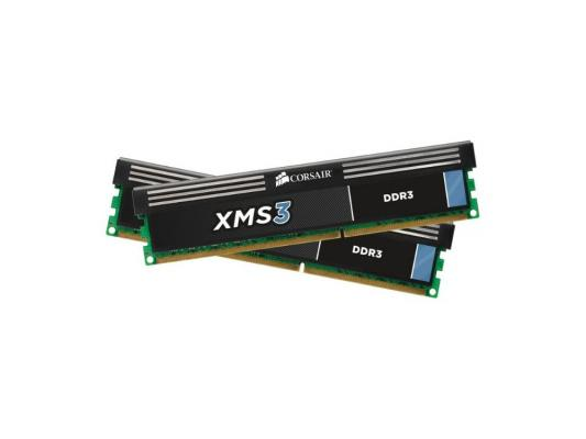 Оперативная память DIMM DDR3 Corsair XMS3 8Gb (pc-12800) 1600MHz (CMX8GX3M2A1600C9)