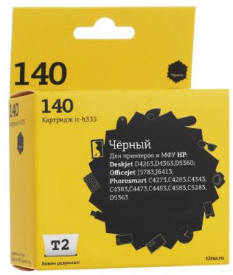 IC-H335 Картридж T2 № 140 для HP Deskjet D4263/D4363/D5360/Officejet J5783/J6413/Photosmart C4273/C4283/C4343/C4383/C4473/C4483/C4583/C5283/D5363, черный