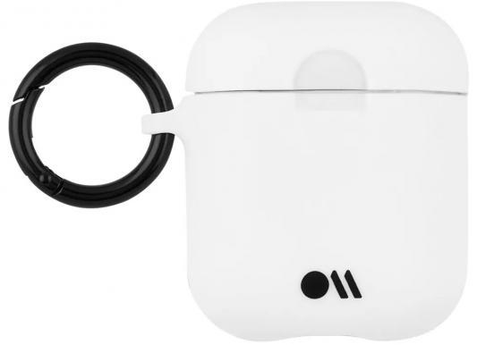 Чехол Case-Mate Hook Ups Case & Neck Strap для AirPods белый CM039264