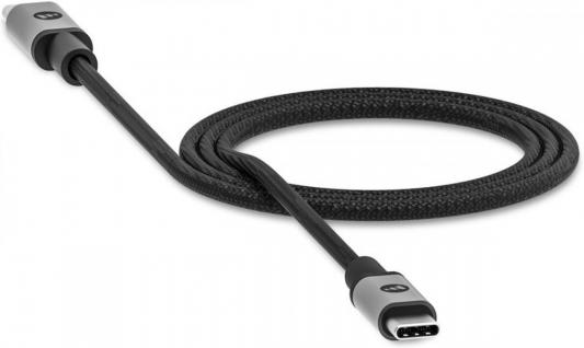 Фото - Кабель Type-C 1.5м Mophie 409903204 круглый черный кабель mophie usb c to lightning 1 8м черный