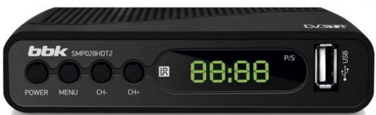 Фото - Ресивер DVB-T2 BBK SMP028HDT2 черный отсутствует second voyage de cook t 4