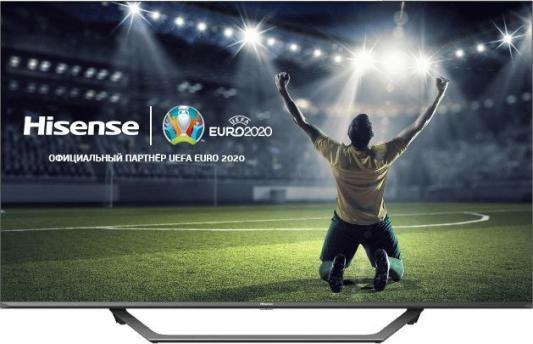 Фото - Телевизор LED Hisense 50 50AE7400F черный/Ultra HD/50Hz/DVB-T/DVB-T2/DVB-C/DVB-S/DVB-S2/USB/WiFi/Smart TV (RUS) enohplx dm98 smart watch mtk6572 2 2 inch hd ips led screen 900mah battery 512mb ram 4gb rom android 4 4 os 3g wcdma gps wifi