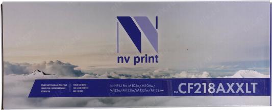 Картридж NVP совместимый NV-CF218AXXLT для HP LaserJet Pro M104a/M104w/M132a/M132fn/M132fw/M132nw (5000k)