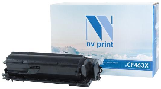 Картридж NV-Print NV-CF463X для HP Color Laser Jet M652DN Color Laser Jet M653DN Color Laser Jet M653X 22000стр Пурпурный