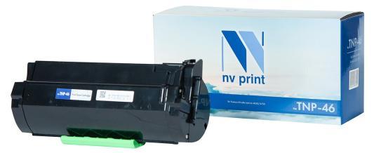 Тонер-картридж NVP совместимый NV-TNP-46 для Konica-Minolta bizhub 4050/4750 (20000k) картридж nv print tnp 27k 2100стр черный