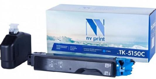 Картридж NVP совместимый NV-TK-5150 Cyan для Kyocera ECOSYS M6035cidn/ M6535cidn/ P6035cdn (10000k) мфу kyocera ecosys m2235dn