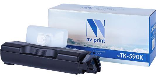 Картридж NVP совместимый NV-TK-590 Yellow для Kyocera FS-C5250DN/ C2026MFP/ C2026MFP+/ C2126MFP/ C2126MFP+/ C2526MFP/ C2626MFP/ Ecosys P6026cdn (5000k)