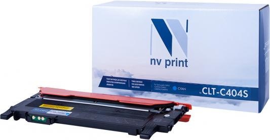 Картридж NVP совместимый NV-CLT-C404S Cyan для Samsung Xpress SL-C480/ SL-C480FW/ SL-C480W/ SL-C430/ SL-C430W (1000k)