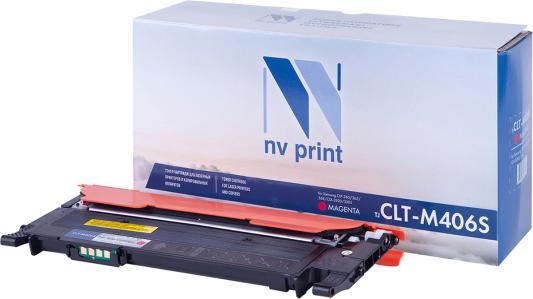 Картридж NVP совместимый NV-CLT-M406S Magenta для Samsung CLP 360/ 365/ 365W/ Xpress C410W/ C460W/ CLX 3300/ 3305/ 3305FN/ 3305FW/ 3305N/ 3305W (1000k) картридж nv print clt m406s для samsung совместимый