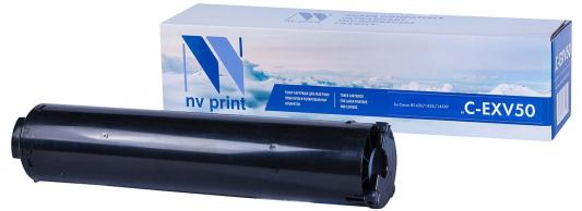 тонер-туба NV-Print C-EXV50 для Canon iR-1435 iR1435i iR1435iF 17600стр Черный