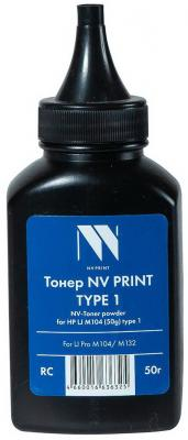 Фото - Тонер NV PRINT NV-HP LJ M104 (50 г) type1 для HP LaserJet Pro M104/M132 (Китай) магнитная лента незаписанная hpe hp lto 6 ultrium 6 25tb rw data tape