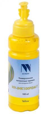 Фото - Чернила NV-INK100PGM Yellow универсальные пигментные для аппаратов Epson (100ml) (Китай) чернила nv ink100pgm cyan универсальные пигментные для аппаратов epson 100ml китай
