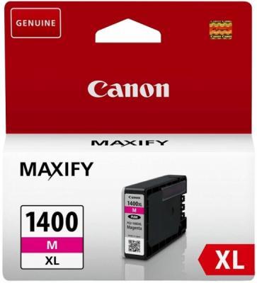 Картридж SuperFine PGI-1400XL для Canon MB2040 MB2340 Maxify MB2140 Maxify MB2740 935стр Пурпурный