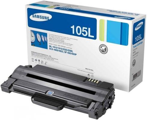 Картридж SuperFine MLT-D105L для Samsung ML-1910 ML-1915 ML-2525 ML-2580 ML 1911 ML-2526 2500стр Черный