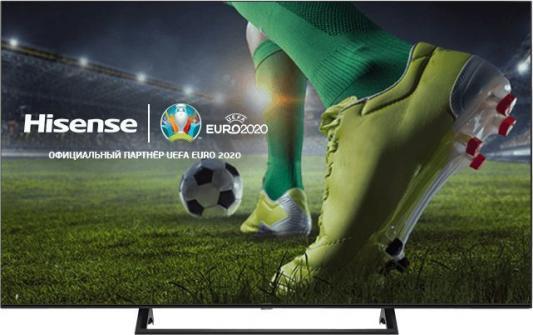 Фото - Телевизор LED Hisense 50 50AE7200F черный/Ultra HD/60Hz/DVB-T/DVB-T2/DVB-C/DVB-S/DVB-S2/USB/WiFi/Smart TV (RUS) телевизор sony kd 43xg7005 led 43 black smart tv 16 9 3840x2160 usb hdmi av wi fi rj 45 dvb t t2 c s s2