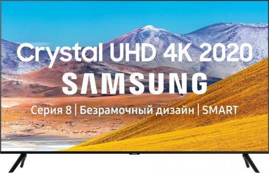 Фото - Телевизор LED Samsung 75 UE75TU8000UXRU 8 черный/Ultra HD/1000Hz/DVB-T2/DVB-C/DVB-S2/USB/WiFi/Smart TV (RUS) прозрачный закаленный стекло гвардии фильм протектор экрана для samsung gear s3 s2 спорт классический фронтир