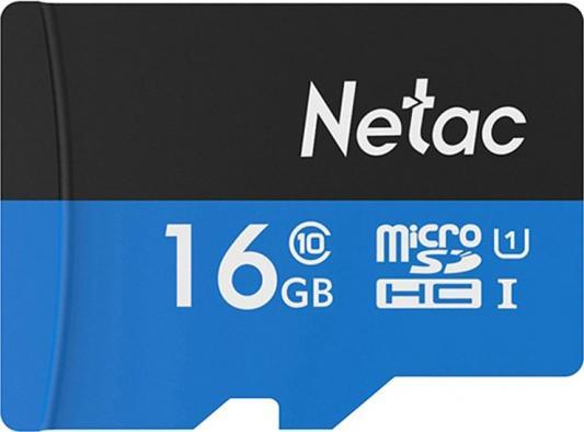 Фото - Флеш карта microSDHC 16GB Netac P500 <NT02P500STN-016G-R> (с SD адаптером) 80MB/s карта памяти netac nt02p500stn 016g s