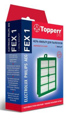 Фото - Фильтр Topperr FEX 1 (1пылесбор.) фильтр topperr fex 2 electrolux philips zanussi aeg ef17 fc8030 1164