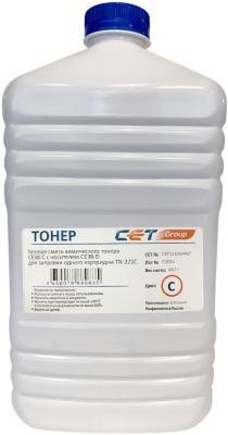 Фото - Тонер Cet CE38-C CET111069467 голубой бутылка 467гр. для принтера KONICA MINOLTA Bizhub C227/287 cet ce28 c ce28 d голубой