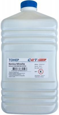Фото - Тонер Cet NF5K CET8815500 черный бутылка 500гр. для принтера Konica Minolta Bizhub C220/280/360 тонер katun для konica minolta bizhub c220 280 360 develop ineo 220 280 360 синий tn 216c tn 319c туба 437г