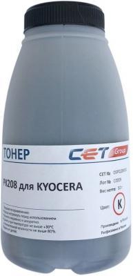 Фото - Тонер Cet PK208 OSP0208K-50 черный бутылка 50гр. для принтера Kyocera Ecosys M5521cdn/M5526cdw/P5021cdn/P5026cdn printio холст 50×50 пес с зонтом гуляет радостно по лужам