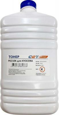 Тонер Cet PK210 OSP0210K500 черный бутылка 500гр. для принтера Kyocera Ecosys P6230cdn/6235cdn/7040cdn мфу kyocera ecosys m2235dn