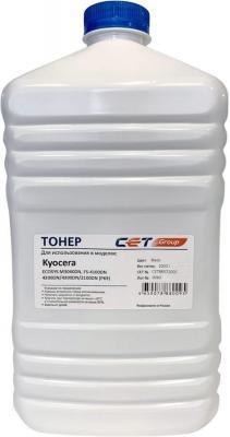 Тонер Cet PK9 CET8857-1000 черный бутылка 1000гр. для принтера Kyocera Ecosys M3040DN FS-4100DN/4200DN/4300DN/2100DN