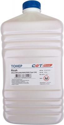 Фото - Тонер Cet Type 516 CET8071500 пурпурный бутылка 500гр. для принтера Ricoh Aficio MPC2030/4000/5000 тонер cet ht8 y cet8524y500 желтый бутылка 500гр для принтера ricoh mpc2003 2503 3003 5503