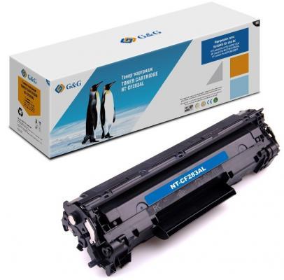 Картридж лазерный G&G NT-CF283AL черный (2500стр.) для HP LJ Pro M125/125FW/125A/M127/M127FW/FN/M201/M225MFP