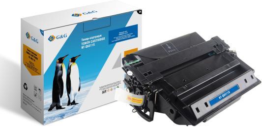 Картридж лазерный G&G NT-Q6511X черный (12000стр.) для HP LJ 2410/2420/2420n/2420d/2420dn/2430/2430n/2430t/2430tn/2430dtn