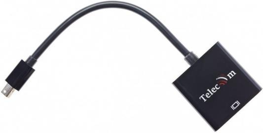 Фото - Кабель-переходник Mini DisplayPort (M) -> HDMI (F), 4K@60Hz, Telecom (TA6056) кабель orient c302 mini displayport m to hdmi f 0 2m black